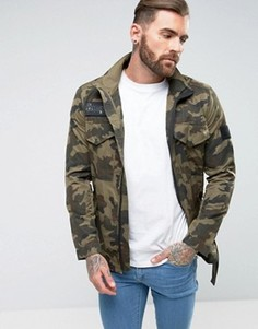 Куртка с камуфляжным принтом Religion x Wretch 32 - Зеленый