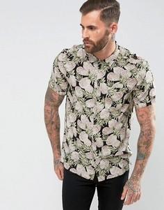 Рубашка с короткими рукавами и принтом ананасов Religion - Черный