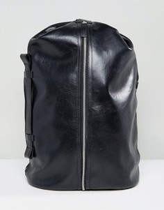 Кожаный рюкзак Royal Republiq Supreme - Черный