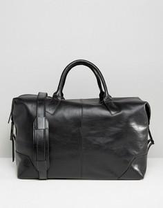 Кожаная сумка Royal Republiq Supreme - Черный