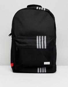 Рюкзак со светоотражающими полосками Spiral - Черный