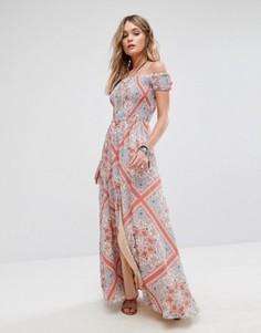 Платье макси Tularosa Henderson - Кремовый