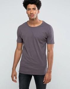 Однотонная футболка Bellfield - Серый