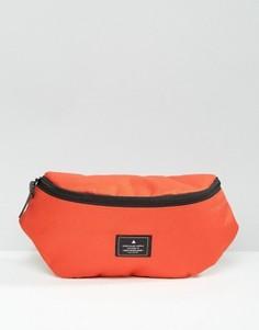 Оранжевая сумка-кошелек на пояс с нашивкой ASOS - Оранжевый