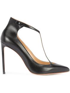 туфли-лодочки с Т-образной планкой Francesco Russo