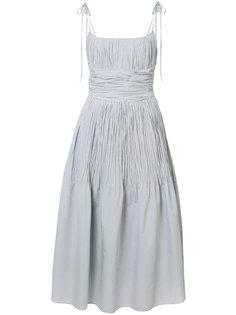 расклешенное платье Brock Collection