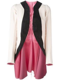 пальто без застежки Comme Des Garçons Vintage