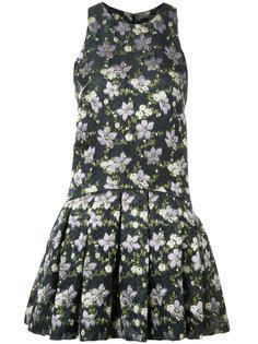 мини-платье с цветочным принтом Alexander McQueen