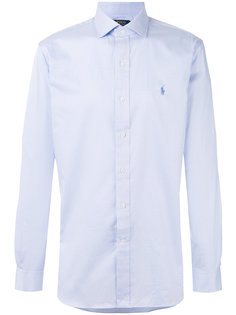 рубашка в клетку с вышивкой логотипа Polo Ralph Lauren