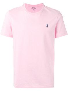 футболка с вышивкой логотипа Polo Ralph Lauren