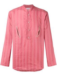 рубашка с цветочной вышивкой на спине Umit Benan