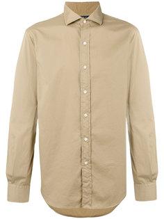 рубашка с вышивкой логотипа Polo Ralph Lauren
