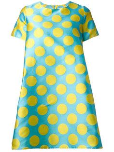 расклешенное платье с принтом  Ultràchic