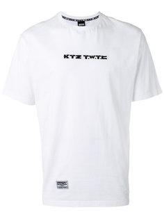 футболка TWTC с вышивкой  KTZ