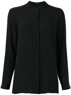 рубашка без воротника Jil Sander Navy