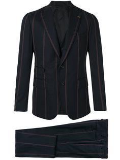 полосатый костюм-тройка  Gabriele Pasini