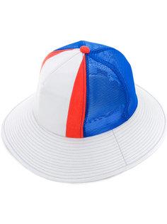 шляпа с панельным дизайном Facetasm