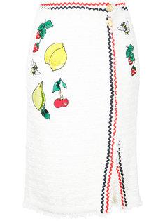 юбка с вышивкой Muveil
