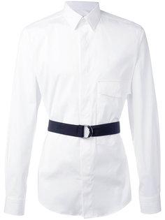 однотонная рубашка Ports 1961