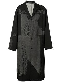 пальто Runway Yohji Yamamoto