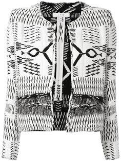куртка с контрастной строчкой Iro