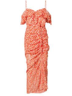 платье с цветочным узором Veronica Beard