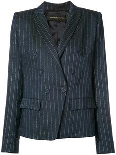 пиджак в тонкую полоску Alexandre Vauthier