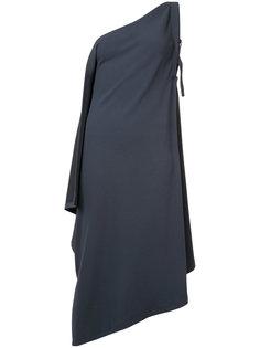 платье на одно плечо Issey Miyake