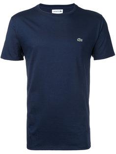 футболка с круглым вырезом Lacoste