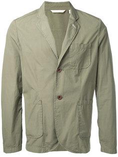 пиджак с накладными карманами Gant Rugger