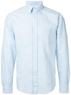 рубашка Kick-Ass Slub Oxford Gant Rugger