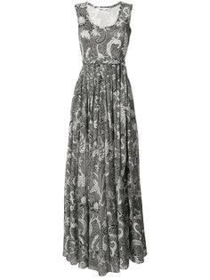 платье-макси без рукавов Diane Von Furstenberg