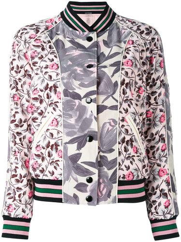 двухсторонняя куртка-бомбер с рисунком Coach