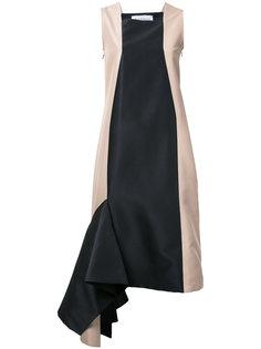платье дизайна колор-блок Bintthani