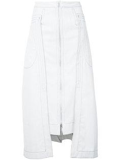 брезентовая юбка Eckhaus Latta