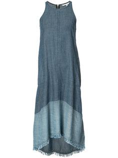 джинсовое платье без рукавов Trina Turk