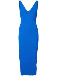 платье с V-образным вырезом Jay Godfrey
