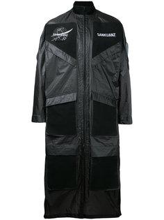 пальто с накладными карманами Sankuanz