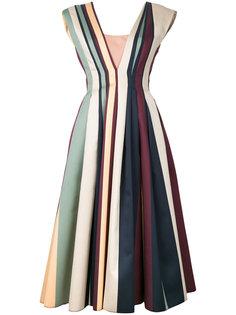 платье плиссе в полоску  Paule Ka