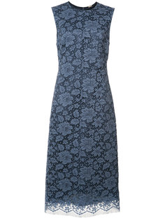 кружевное платье с цветочным узором Adam Lippes