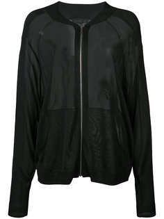 прозрачная куртка-бомбер Barbara Bui
