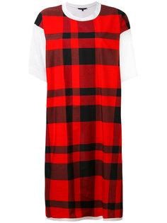 платье-футболка в клетку Sofie Dhoore