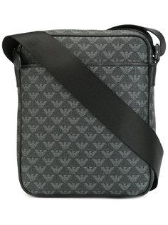 монограммная сумка-почтальонка Emporio Armani