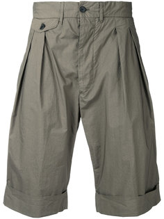 шорты со складками Wooster + Lardini