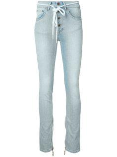 джинсы с высокой талией Off-White
