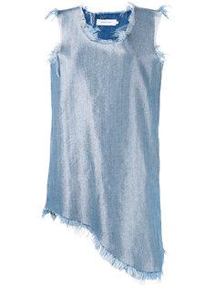 джинсовое мини-платье Marquesalmeida