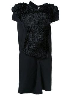 платье с абстрактными рюшами Comme Des Garçons Vintage