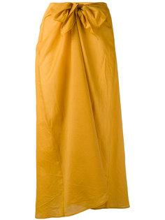 юбка с узлом на поясе Diega