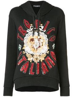толстовка с капюшоном Tropico Italiano Dolce & Gabbana