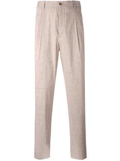 брюки со складками Giorgio Armani